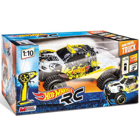 RC Hot Wheels jeep cu telecomandă 1/10 - Mondo Motors