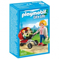 Playmobil: Mother with twin stroller (5573)