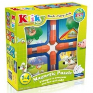 Supermag: Kliky puzzle green country jucărie cu magnet