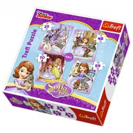 Sofia Princess 4 in 1 puzzle - Trefl