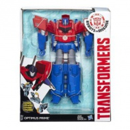 Transformers Robots in Disguise: Optimus Prime Hyper Change figurina robot care se poate transforma in 3 pasi - Hasbro