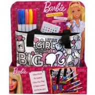 Barbie: Color Me Mine poşetă colorabilă de petrecere