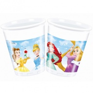 Disney Princess pahar plastic 200ml 8 bucăţi