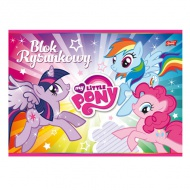 My Little Pony bloc desen format A/4 cu 20 coli
