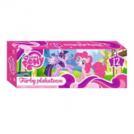 My Little Pony Tempera în tub 12buc.