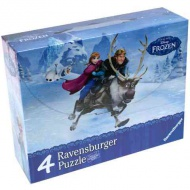 Frozen 4 in 1 puzzle set - Ravensburger