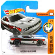 Hot Wheels: '15 Dodge Challenger masina 1/64 - Mattel