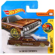 Hot Wheels: '64 Lincoln Continental maşină 1/64 - Mattel