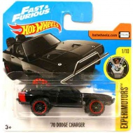 Hot Wheels: '70 Dodge Charger maşină 1/64 - Mattel