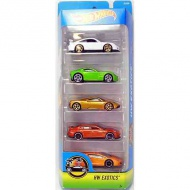 Hot Wheels: Exotics set maşini 5 bucăţi - Mattel