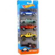 Hot Wheels: Hot Trucks set maşini 5 bucăţi 1/64 - Mattel