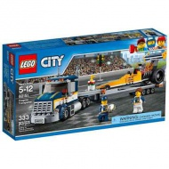 LEGO® City: Dragster Transporter (60151)