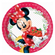Minnie Mouse party set farfurie 23 cm set 8 bucăţi