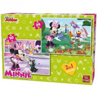 Minnie Mouse 2 in 1 set puzzle