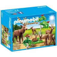 Playmobil: Country Stag with deer Family (6817)